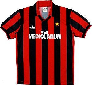 Camisa retro Adidas Milan 1991 1992 I jogador