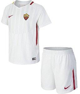 Kit infantil oficial Nike Roma 2017 2018 II jogador