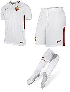 Kit adulto oficial Nike Roma 2017 2018 II jogador