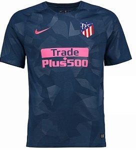 Camisa oficial Nike Atletico de Madrid 2017 2018 III jogador
