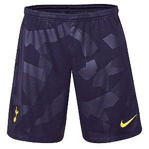 Calção oficial Nike Tottenham 2017 2018 III jogador