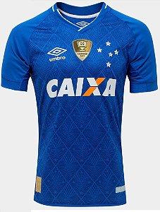 Camisa oficial Umbro Cruzeiro 2017 I jogador