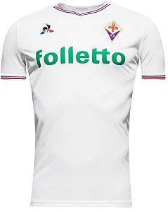 Camisa oficial Le Coq Sportif Fiorentina 2017 2018 II jogador