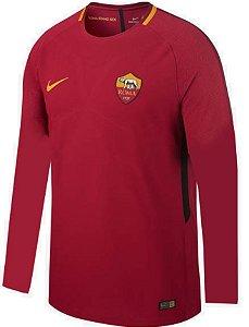 Camisa oficial Nike Roma 2017 2018 I jogador manga comprida