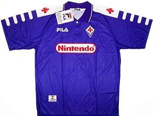 Camisa retro Fila Fiorentina 1998 1999 I jogador