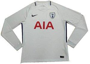 Camisa oficial Nike Tottenham 2017 2018 I jogador manga comprida
