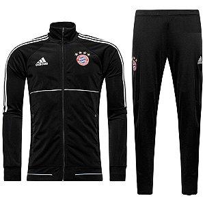 Kit treinamento oficial Adidas Bayern de Munique 2017 2018 Preto