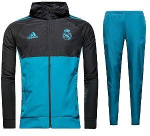 Kit treinamento oficial Adidas Real Madrid 2017 2018 Champions League