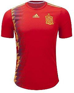 Camisa oficial Adidas seleção da Espanha 2018 I jogador