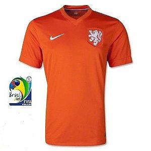 Camisa oficial nike seleção da Holanda 2014 I jogador