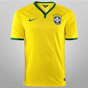 camisa oficial nike seleção brasileira 2014 I jogador
