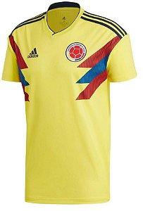 Camisa oficial Adidas seleção da Colombia 2018 I jogador