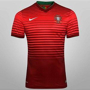 Camisa oficial nike seleção de Portugal 2014 I jogador