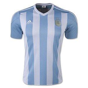 Camisa Oficial Adidas seleção da Argentina 2015 I jogador Copa América