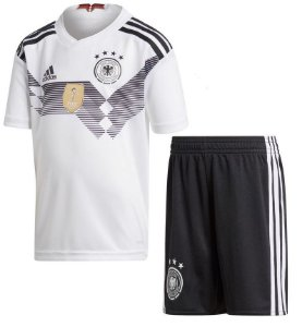 Kit infantil oficial Adidas seleção da Alemanha 2018 I jogador