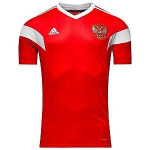 Camisa oficial Adidas seleção da Russia 2018 I jogador