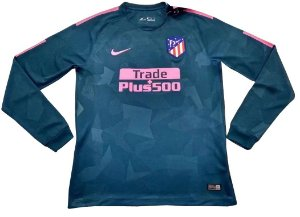 Camisa oficial Nike Atletico de Madrid 2017 2018 III jogador manga comprida