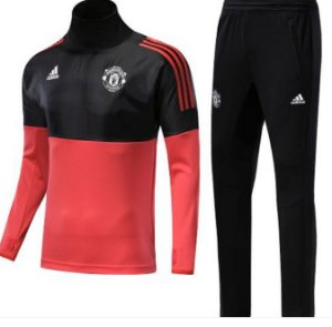 Kit treinamento oficial Adidas Manchester United 2017 2018 Champions League