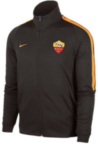 Jaqueta oficial Nike Roma 2017 2018 Preta