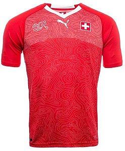 Camisa oficial Puma seleção da Suíça 2018 I jogador