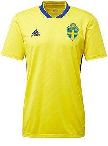 Camisa oficial Adidas seleção da Suécia 2018 I jogador