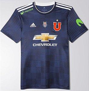 Camisa oficial Adidas Universidad de Chile 2017 2018 i jogador