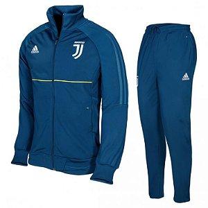Kit treinamento oficial Adidas Juventus 2017 2018 Azul