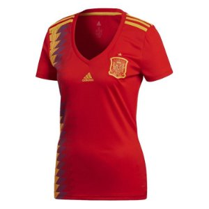 Camisa feminina oficial Adidas seleção da Espanha 2018 I