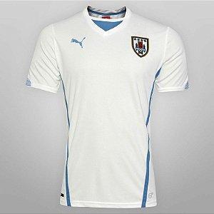 camisa oficial Puma seleção do Uruguai 2014 II jogador