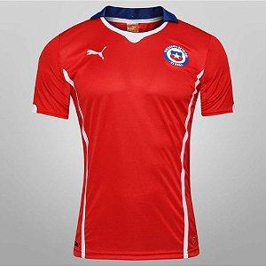 Camisa oficial Puma seleção do Chile 2014 I jogador