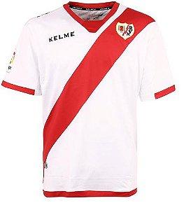 Camisa oficial Kelme Rayo Vallecano 2017 2018 I jogador