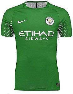 Camisa oficial Nike Manchester City 2017 2018 I goleiro