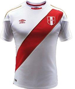 Camisa oficial Umbro seleção do Peru 2018 I jogador