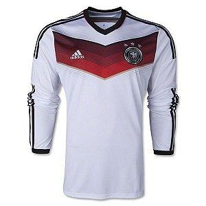 Camisa manga longa oficial seleção da Alemanha I jogador