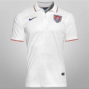 Camisa oficial seleção dos Estados Unidos 2014 I jogador