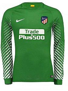 Camisa oficial Nike Atletico de Madrid 2017 2018 I goleiro manga comprida