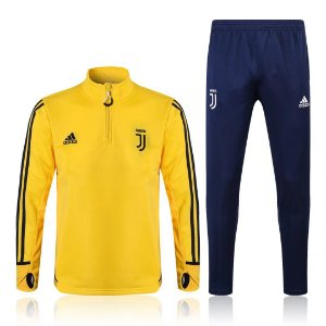 Kit treinamento oficial Adidas Juventus 2017 2018 Amarelo e azul