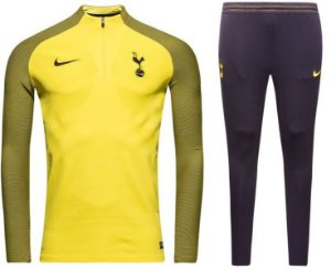 Kit treinamento oficial Nike Tottenham 2017 2018 amarelo e azul
