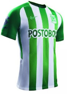 Camisa oficial Nike Atlético Nacional de Medellin 2018 I jogador