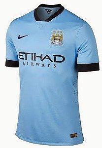 Camisa oficial Nike Manchester City 2014 2015 I Jogador