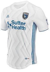 Camisa oficial Adidas San Jose Earthquakes 2018 II jogador