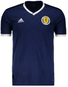Camisa oficial Adidas seleção da Escócia 2018 I jogador