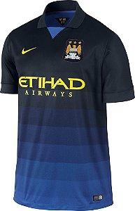 Camisa oficial Nike Manchester City 2014 2015 II jogador
