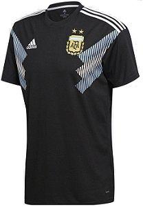Camisa oficial Adidas seleção da Argentina 2018 II jogador