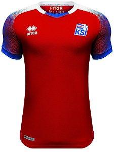 Camisa oficial Errea seleção da Islandia 2018 III jogador