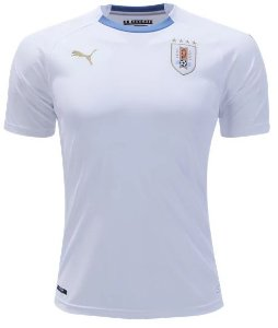 Camisa oficial Puma seleção do Uruguai 2018 II jogador