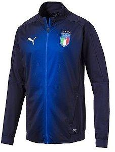 Jaqueta oficial Puma seleção da Itália 2018 Azul
