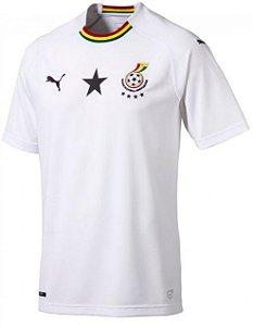 Camisa oficial Puma seleção de Gana 2018 II jogador