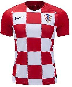Camisa oficial Nike seleção da Croácia 2018 I jogador