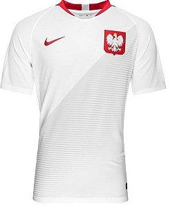 Camisa oficial Nike seleção da Polonia 2018 II jogador